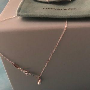 Tiffany teardrop or raindrop necklace.